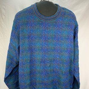 Jhane Barnes Men's Multi-colored Sweater Size XXL